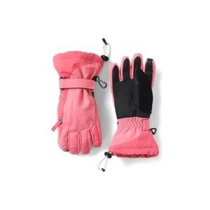 new LANDS END kids squall snow gloves waterproof s